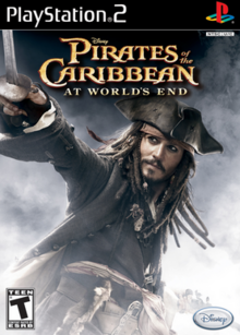 Disney Pirates of the Caribbean At World's End 2007 Game Cover