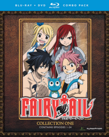 Fairy Tail 2011 DVD Cover