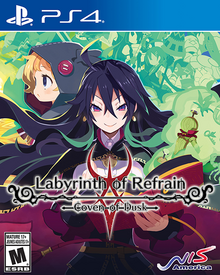 Labyrinth of Refrain Coven of Dusk 2018 Game Cover
