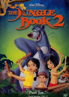 The Jungle Book 2 2003 DVD Cover