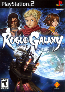 Rogue Galaxy 2007 Game Cover