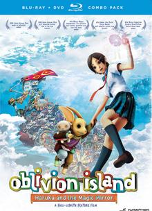 Oblivion Island Haruka and the Magic Mirror 2012 Blu-Ray DVD Cover