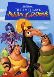 The Emperor's New Groove 2000 DVD Cover