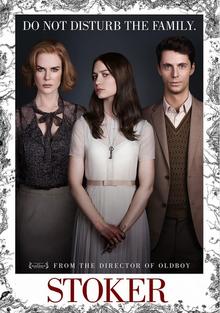 Stoker 2013 DVD Cover