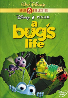 A Bug's Life 1998 DVD Cover