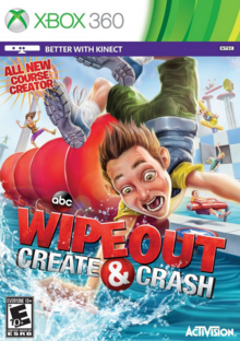 Wipeout Create & Crash 2013 Game Cover