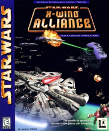 Star Wars X-Wing Alliance 1999 Game Cover