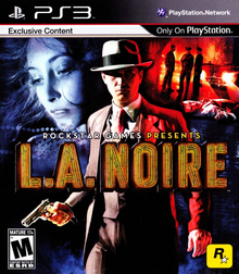 L.A. Noire 2011 Game Cover