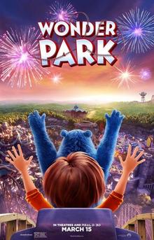 Wonder Park 2019 DVD Cover