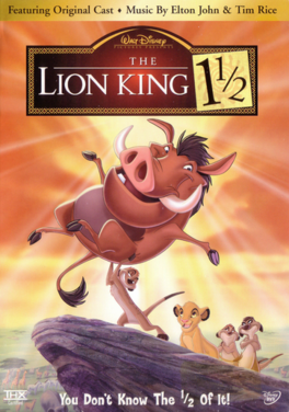 The Lion King 1 1-2 2004 DVD Cover