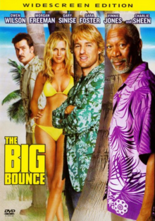 The Big Bounce 2004 DVD Cover
