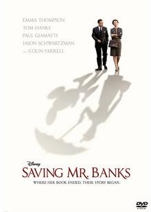 Saving Mr. Banks 2013 DVD Cover