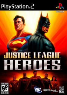 Justice League Heroes 2006 Game Cover