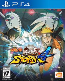 Naruto Shippuden Ultimate Ninja Storm 4 2016 Game Cover
