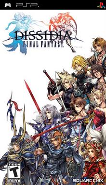 Dissidia Final Fantasy 2009 Game Cover