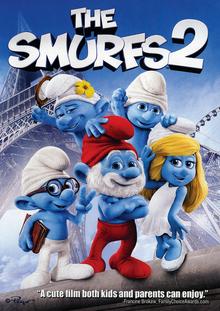 The Smurfs 2 2013 DVD Cover