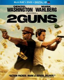 2 Guns 2013 Blu-Ray DVD Cover
