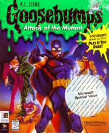Goosebumps Attack of the Mutant 1997 Game Cover
