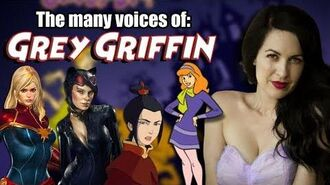 Many Voices of Grey Griffin Grey DeLisle (Avatar Scooby-Doo Captain Marvel Catwoman)