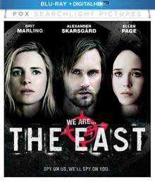 The East 2013 BLU-RAY + DIGITAL HD Cover