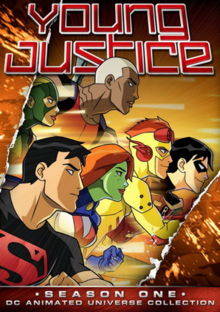 Young Justice 2010 DVD Cover