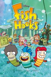 Disney Fish Hooks 2010 Poster
