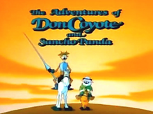 The Adventures of Don Coyote and Sancho Panda 1990 Title Card