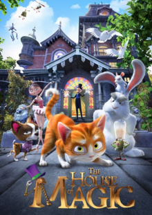 The House of Magic 2014 DVD Cover