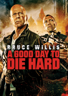 A Good Day to Die Hard 2013 DVD Cover