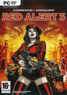 Command & Conquer Red Alert 3 2008 Game Cover