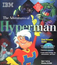 The Adventures of Hyperman 1995 Game Cover