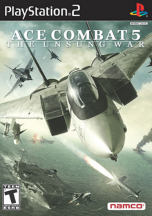 Ace Combat 5 The Unsung War 2004 Game Cover