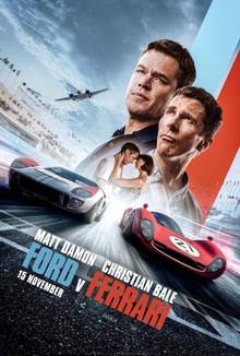 Ford v Ferrari 2019 Poster