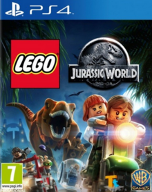 Lego Jurassic World 2015 Game Cover