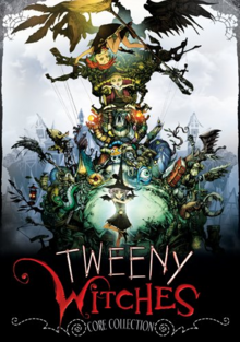 Tweeny Witches 2008 DVD Cover