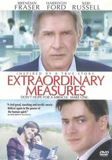 Extraordinary Measures 2010 DVD Cover