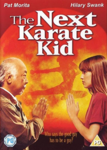The Next Karate Kid 1994 DVD Cover