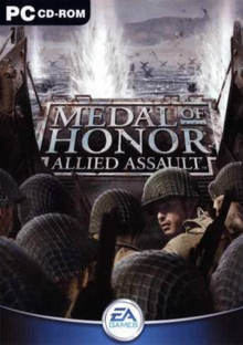 Medal of Honor Allied Assault 2002 Game Cover