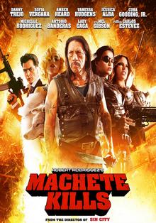 Machete Kills 2013 DVD Cover