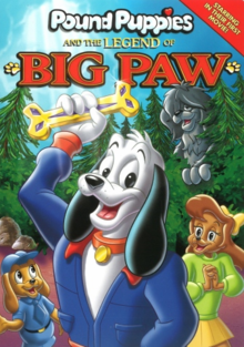 Pound Puppies and the Legend of Big Paw 1988 DVD Cover