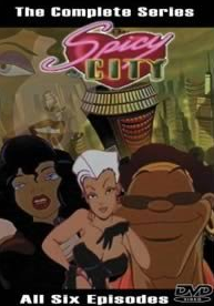 Spicy City 1997 DVD Cover