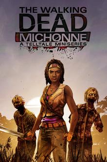 The Walking Dead Michonne A Telltale Miniseries 2016 Game Cover
