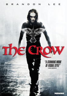 The Crow 1994 DVD Cover