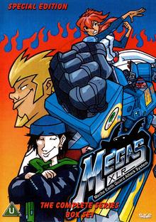 Megas XLR 2004 DVD Cover