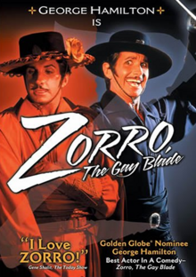 Zorro, The Gay Blade 1981 DVD Cover