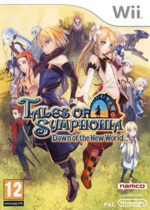 Tales of Symphonia Dawn of the New World 2008 Game Cover