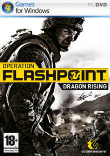 Operation Flashpoint Dragon Rising 2009 Game Cover