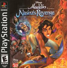 Disney's Aladdin in Nasira's Revenge 2000 Game Cover