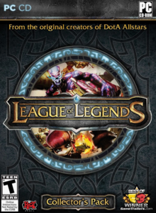 League of Legends 2009 Game Cover