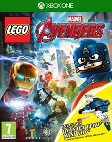 Lego Marvel Avengers 2016 Game Cover